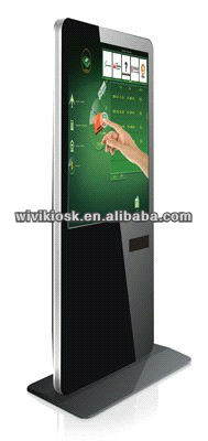 Use touch kiosk, entered the new era of touch