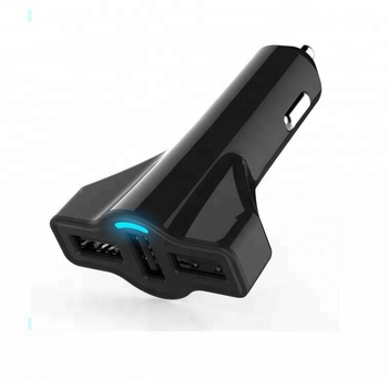 Shenzhen Oem Back 3 Usb Car Charger For Phones