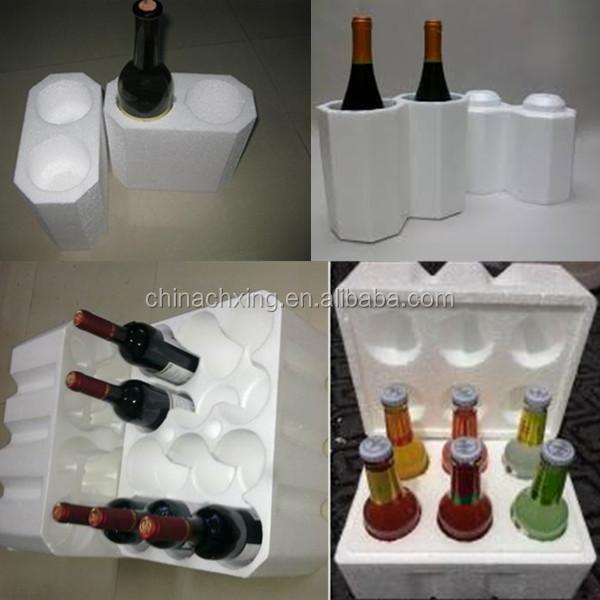 Glass Bottle Wine Bottles Styrofoam Protective Packing