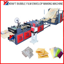 Automatic High speed kraft paper Bubble film Envelope Bag Making Machine