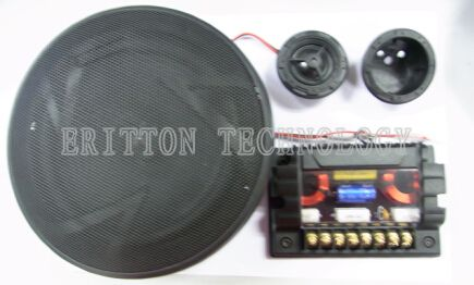 40w 6.5 inch component car speaker with high sensitivity