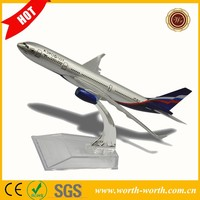 New Product Russia A330 aeroflot flying Model Plane , toy plane wholesale airplane model for sale