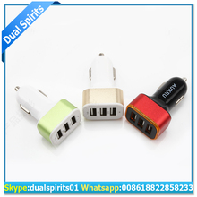 New design QC3.0 car charger with 3 usb ports 9V/2A supplier