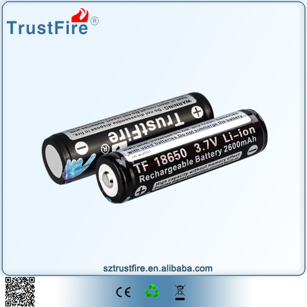 Good price and quality cylindrical lithium ion battery 18650 3.7v 2600mah 18650 Battery Cell