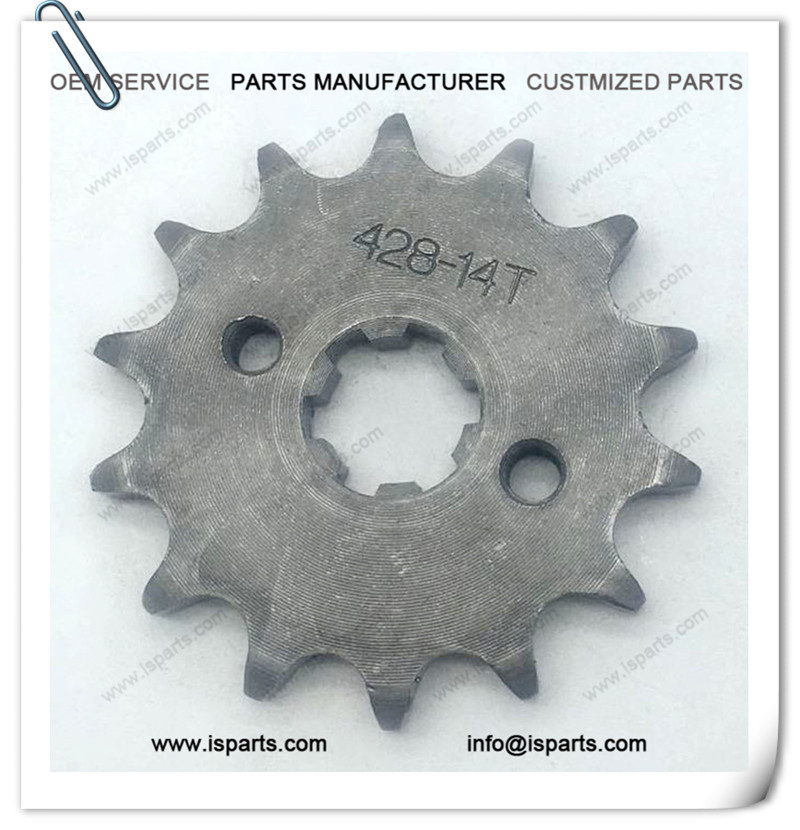 17mm 428 Pit Dirt Bike 14T Front Sprocket 110cc 125cc 140cc 150