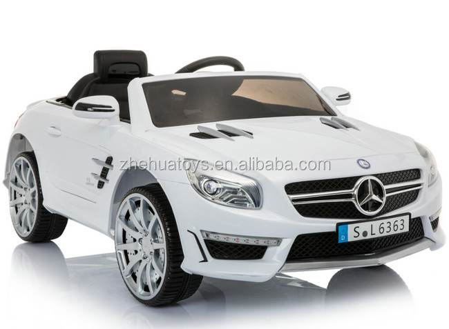 Kids Electric Car Mercedes Benz SL63 Licensed Ride On Car Mercedes