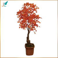 165cm cheap price decorative artificial maple tree for promotion