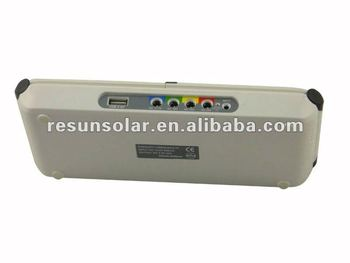 2012 New products! Portable,Rechargeable And Environmental Solar Charger For Laptop Computer &mobile phone