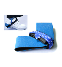 blue esd heel ground antistatic heel strap foot grounder