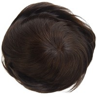 "Hot Sale Cheap High Quality 8A Express Alibaba India Remy Virgin Human Hair Full Thin Skin Men Toupee Hair Piece MONO# 6""*8"""