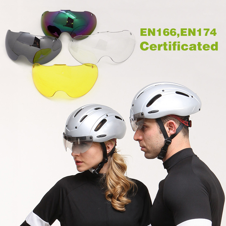 2016 New Design Intelligent Skating Helmet In-mold Technology Ice Skating Helmet With CE EN1078