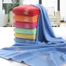 super cheap recycled cotton bath towel
