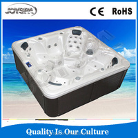 Acrylic Material and Sex Massage (Air & Whirlpool) Massage Type 7 seats outdoor spa hot tub