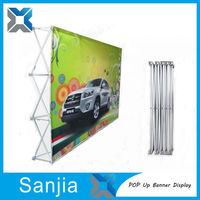 High Quality Promotion Spring Pop Up Banner,Promotion Spring Pop Up Banner for Sale