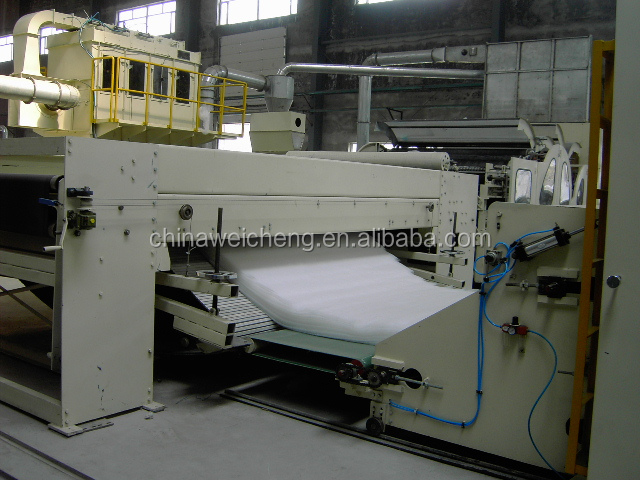 Nonwoven Polyester Fiber Wadding Production Line