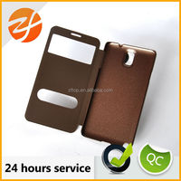Mobile Phone accessory leather case for samsung note 3 case