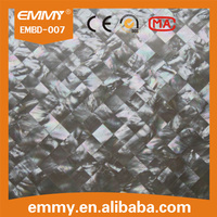 Natural square pure whitelip mother of pearl sea shell mosaic wall tile manufacturer