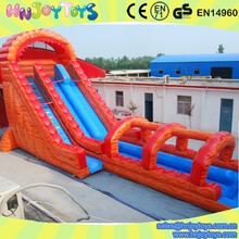 hippo inflatable water slide, inflatable hippo water slide, Giant orange Hippo water slide