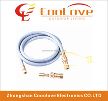 low pressure appliance flexible natural gas hose