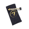 For sale lowest Price dry herb kit 7 pipe smoking twisty glass blunt