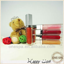 fantastic accepte customize LED lipgloss with mirror
