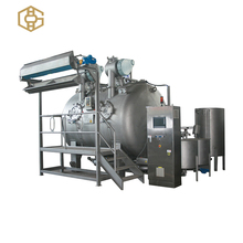 High temperature low liquor ratio energy saving jet fabric cloth textile cotton dyeing machine