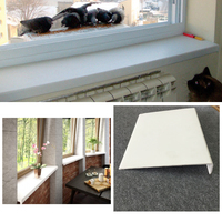 Most Popular White Color PVC Plastic Interior Window Sills for Doors Windows