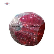 Cheap 100% TPU inflatable zorb ball / bumper ball / bubble football for adult