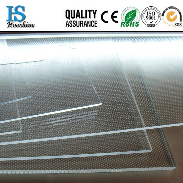 PMMA Guide LGP,Laser Dotting Engraving Light Panel,Large Size Long Lifespan LGP