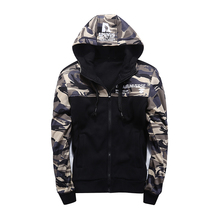 High quality wholesale printed camouflage hoodies and sweatshirts for men