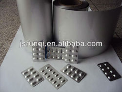 Printed / Unprinted Alu Alu Foil Roll Cold Forming Aluminum Foil for Pharmaceutical Blister Packaging