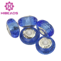 Fits Charms Original European Bracelet Authentic 925 Sterling Silver Murano Glass Beads Charm DIY Jewelry Beads