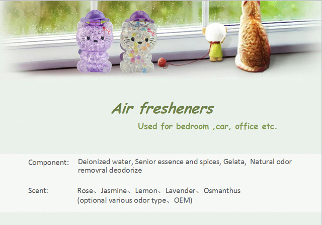 Car Fresheners gel air freshener small container freshen air