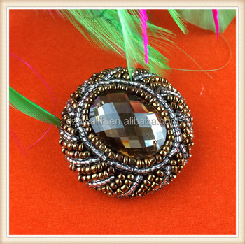 Decorative fancy rhine stone coat buttons for garments China manufacture