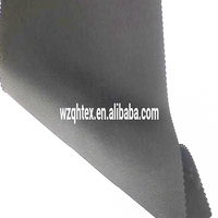 Black Color Scuba Knit Fabric Neoprene
