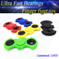 ABS Desk Toy Bat Shaped Hand Spinner with 608 bearing high quality