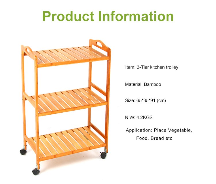 Bamboo Kitchen Trolley Design Wooden Trolley Buy Bamboo Kitchen Trolley Kitchen Trolley Design