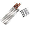 Stainless Steel Custom Cigar Tubes and Flask for Valentine's Gift