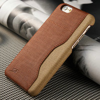 Alibaba China Flip Stand Canvas leather case for iPhone 6