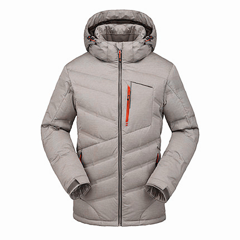 Hot Sale north Men's Mountain Works 100% Polyester Hoodie Face Duck Down Jacket OEM