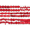 Natural Red Coral Beads Wholesale