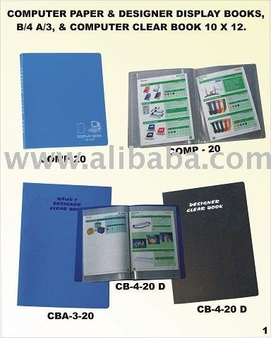 DISPLAY BOOKS IN ALL SIZES A/5 TO A/3