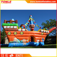 Amazing Pirate Ship Adventure inflatable bouncer house for sale, inflatable jumping castle for adults