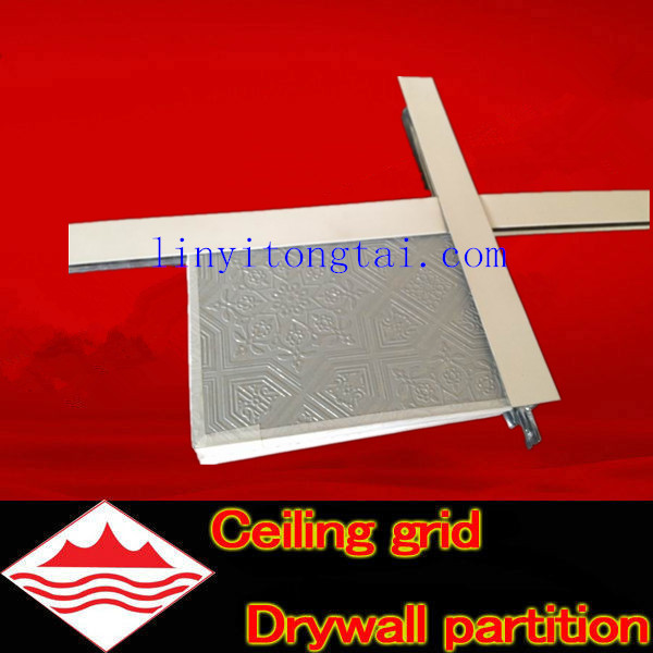 hot sale steel ceiling t-bar/ceiling steel t-bar size/stainless steel t-bar