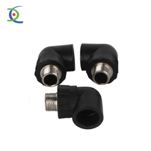 threaded pipe fitting male thread elbow 90 degree NPT