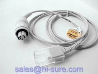Round 10P to DB9P Datex OXYC3 Spo2 Adapter Cable/Extension Cable with CE,ISO13485 certification