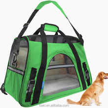 Oxford Pet Soft Bags Cat Dog Travel Tote Bags Pet Carrier