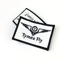 Custom Badge Embroidery Heat Press Patch Iron On Patch Applique For Clothing