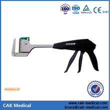 Endoscopic linear cutter GIA stapler with double handle