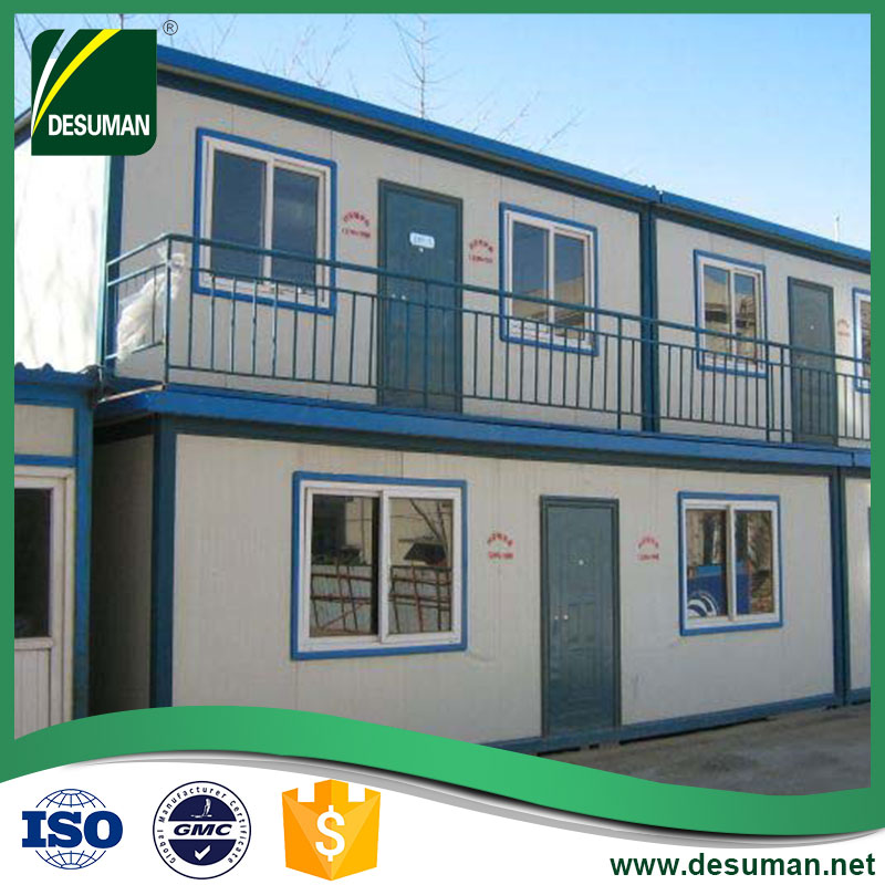 China prefab flat pack worker accommodation modular home for classroom